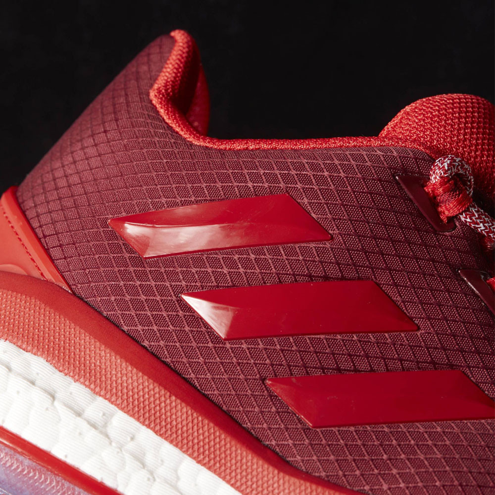 473fb88513f adidas Mens D Rose Englewood Boost Basketball Shoes Red Sports Trainers