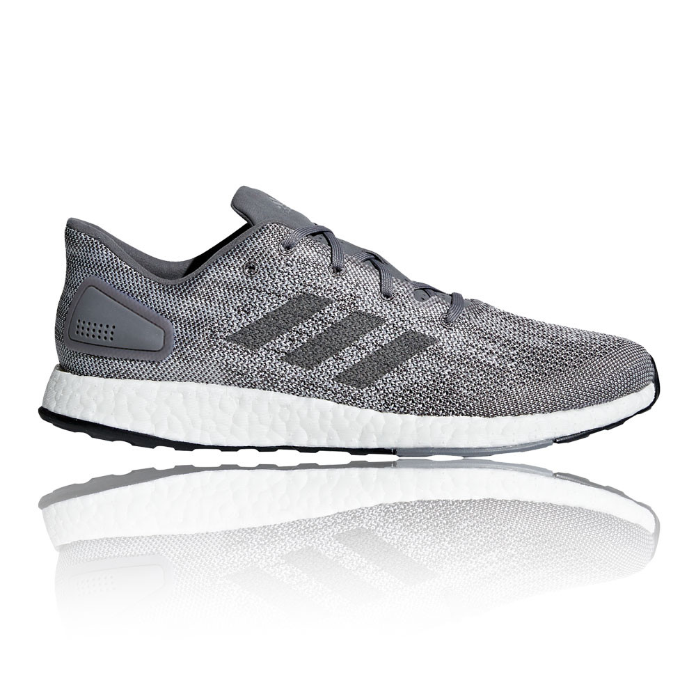 newest bab99 019b3 Details about adidas Mens PureBOOST DPR Running Shoes Trainers Sneakers  Grey Sports Breathable