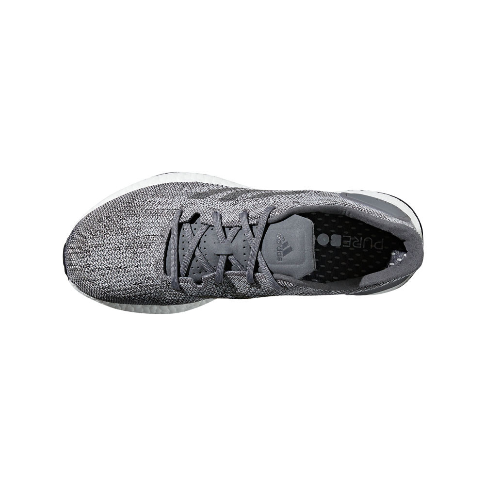 sale retailer d28ba 77d7b Adidas Hombre Pureboost Dpr Correr Zapatos Zapatillas Gris Deporte  Transpirable