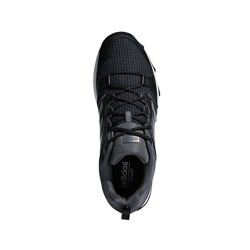 12b4dace07fd0 adidas Mens Galaxy Trail Running Shoes Trainers Sneakers Black Sports  Breathable