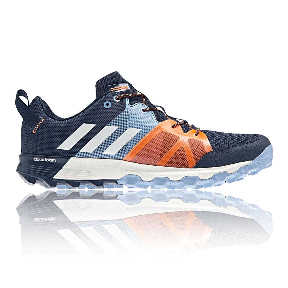 Adidas hombre  kanadia TR zapatos azul marino naranja deportes corriendo