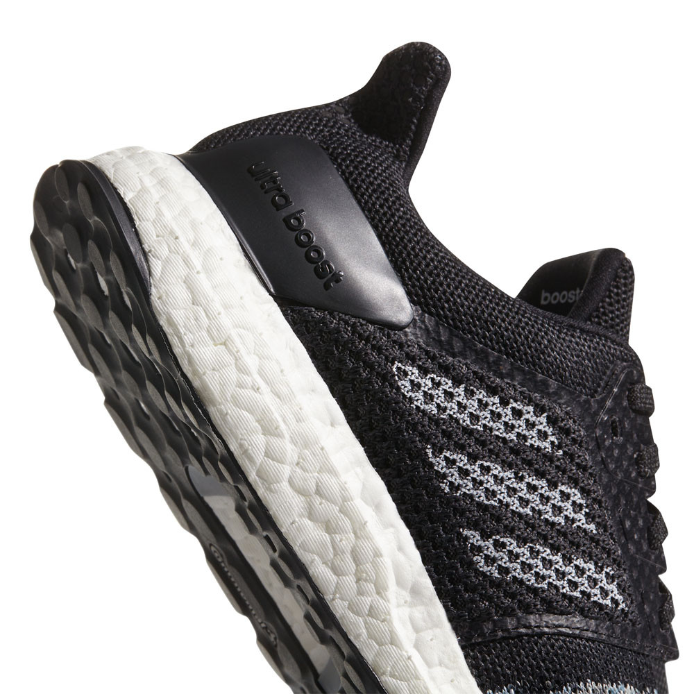 c1d3ee4b21d adidas Mens UltraBOOST ST Running Shoes Trainers Sneakers Black Sports