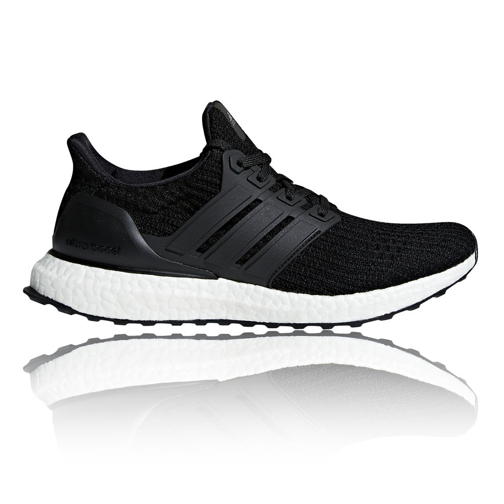 8fd863e77 Details about adidas Womens UltraBOOST Running Shoes Trainers Sneakers  Black Sports Breathable