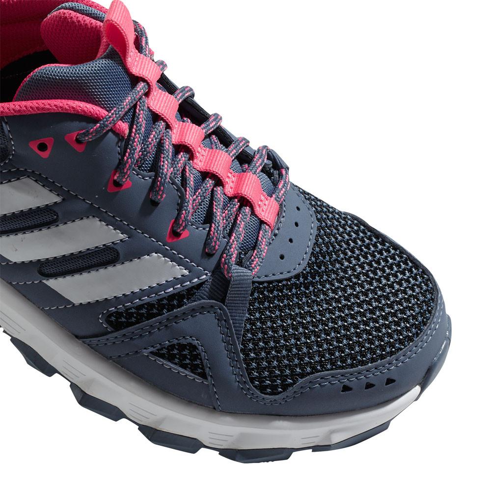 adidas donne rockadia tracce scarpe grey sport corsa respirabile