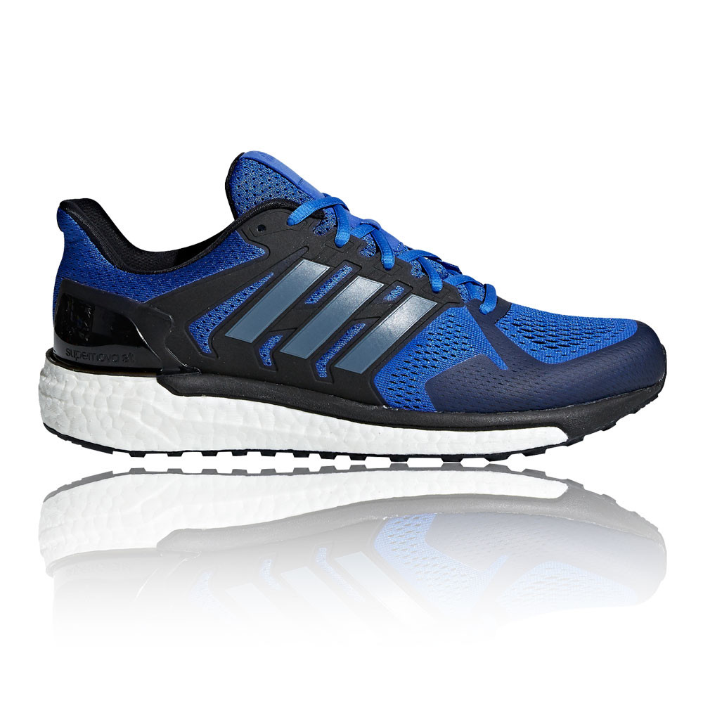 adidas-Mens-SUPERNOVA-ST-Running-Shoes-Trainers-Sneakers-Black-Blue-Sports