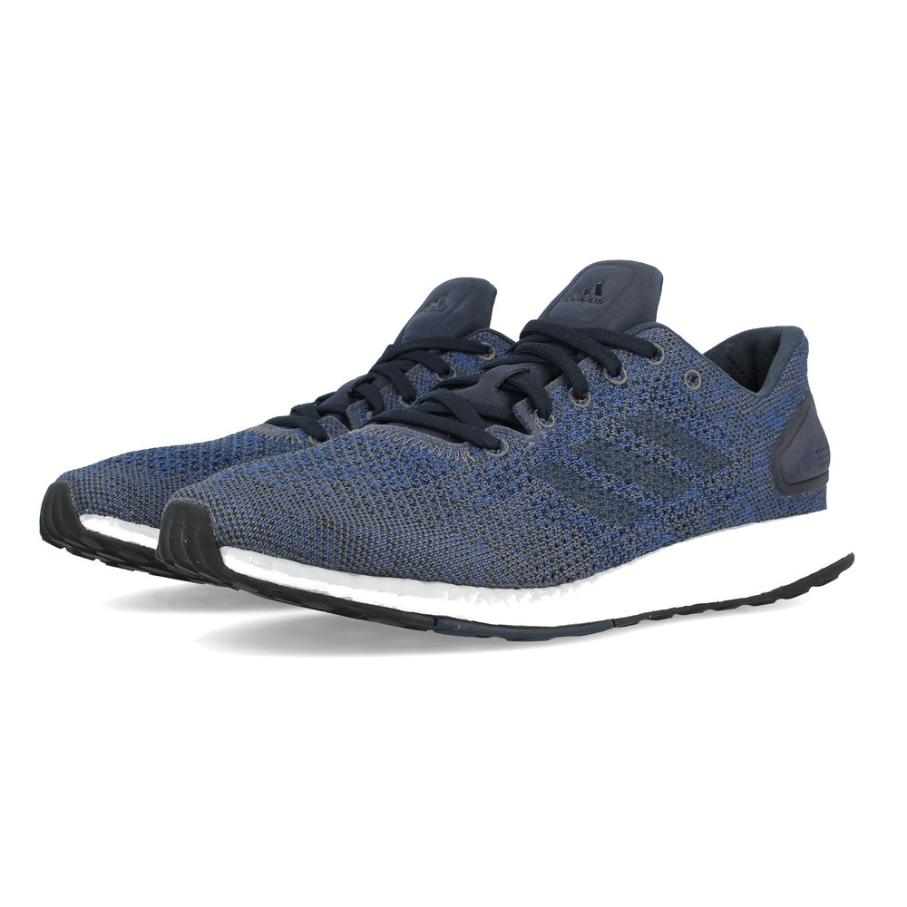 adidas Homme PureBOOST DPR Running Chaussures Trainers Sneakers Navy Bleu Sports