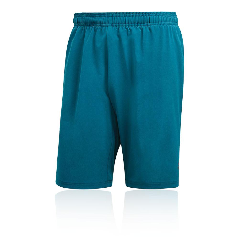 più recente e72e8 7442c Dettagli su adidas Uomo 4KRFT Elevated Training Palestra Shorts  Pantaloncini Blu Sport