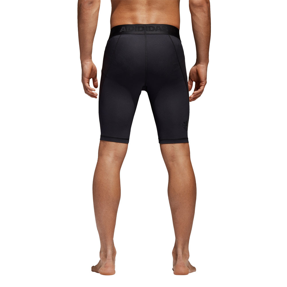 f0ecc7c4618 Details about adidas Mens AlphaSkin Short Sport Tight Black Sports Running  Breathable
