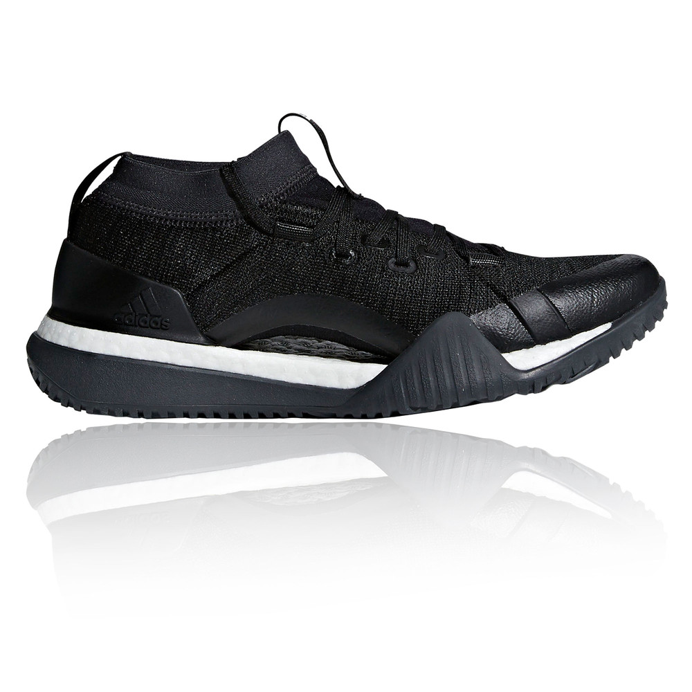 7038c04188488 Details about adidas Womens PureBOOST X TR 3.0 Shoes Black Gym Breathable  Lightweight Trainers