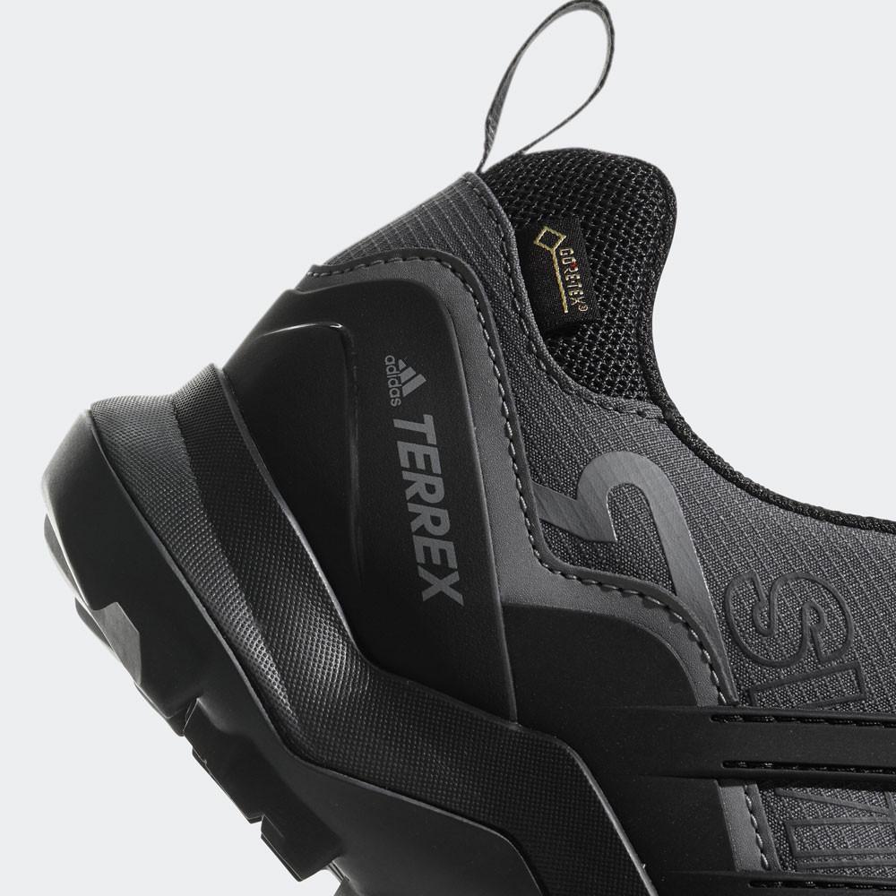sale retailer 79d94 62f8e adidas Hombre Terrex Swift R2 GORE-TEX Caminar Zapatos Negro Gris Deporte