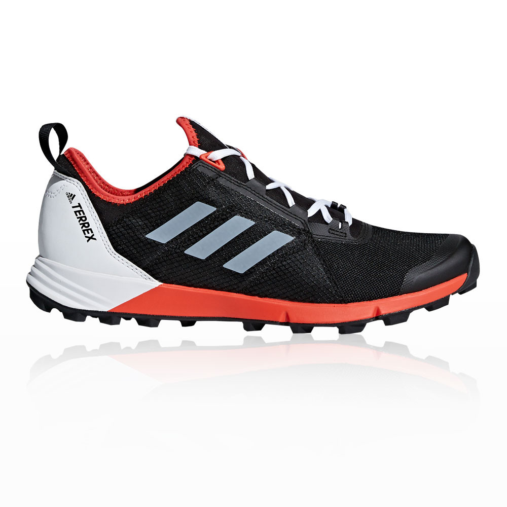 50dafada3300e adidas Hombre Terrex Agravic Speed Sendero Correr Zapatos Zapatillas Negro  Rojo