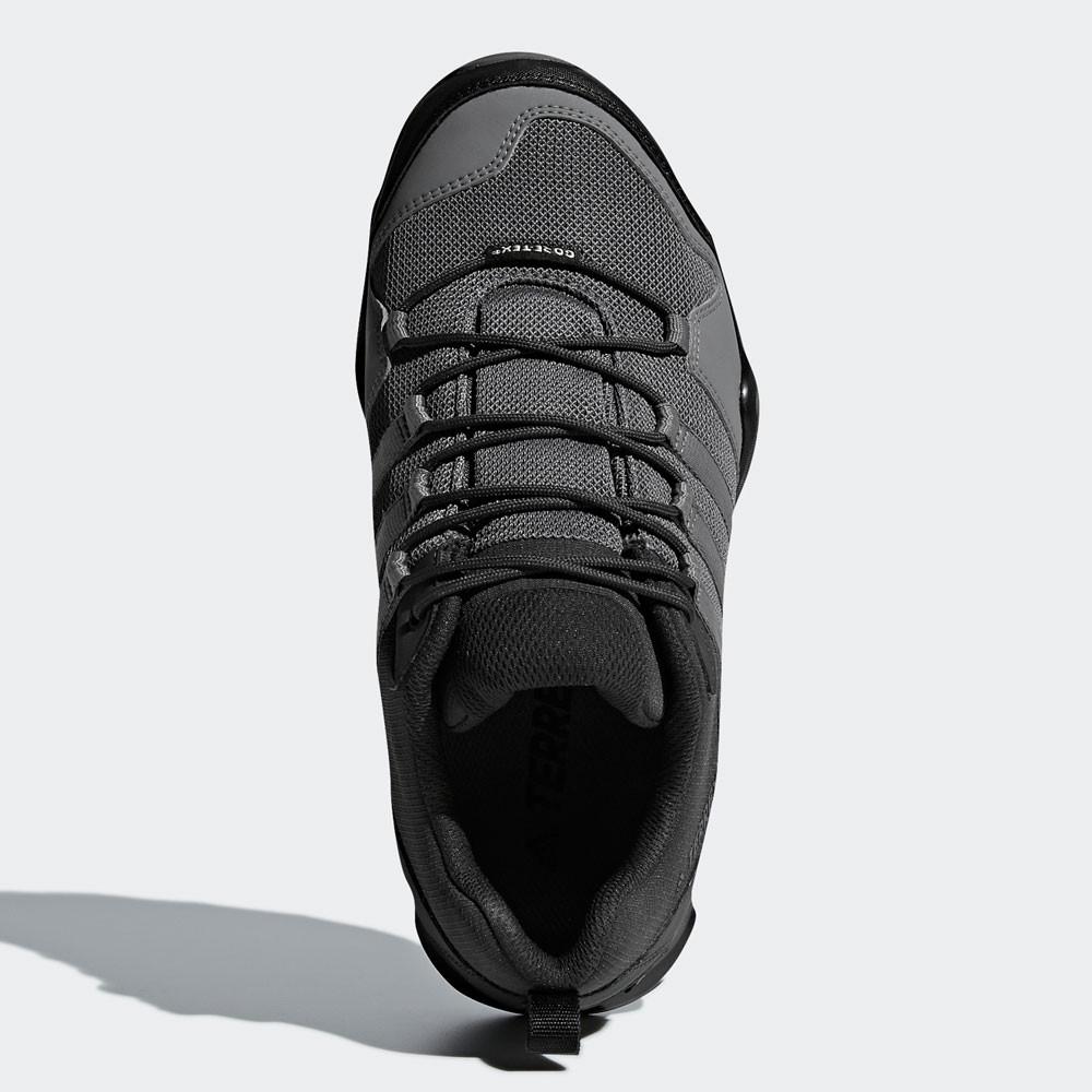 best service 650ba 027f9 adidas Hombre Terrex AX2R GORE-TEX Caminar Zapatos Negro Gris Deporte  Acampada