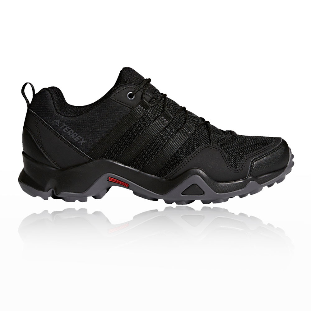 adidas Mens Terrex AX2R Walking Shoes Black Grey Sports Outdoors Breathable