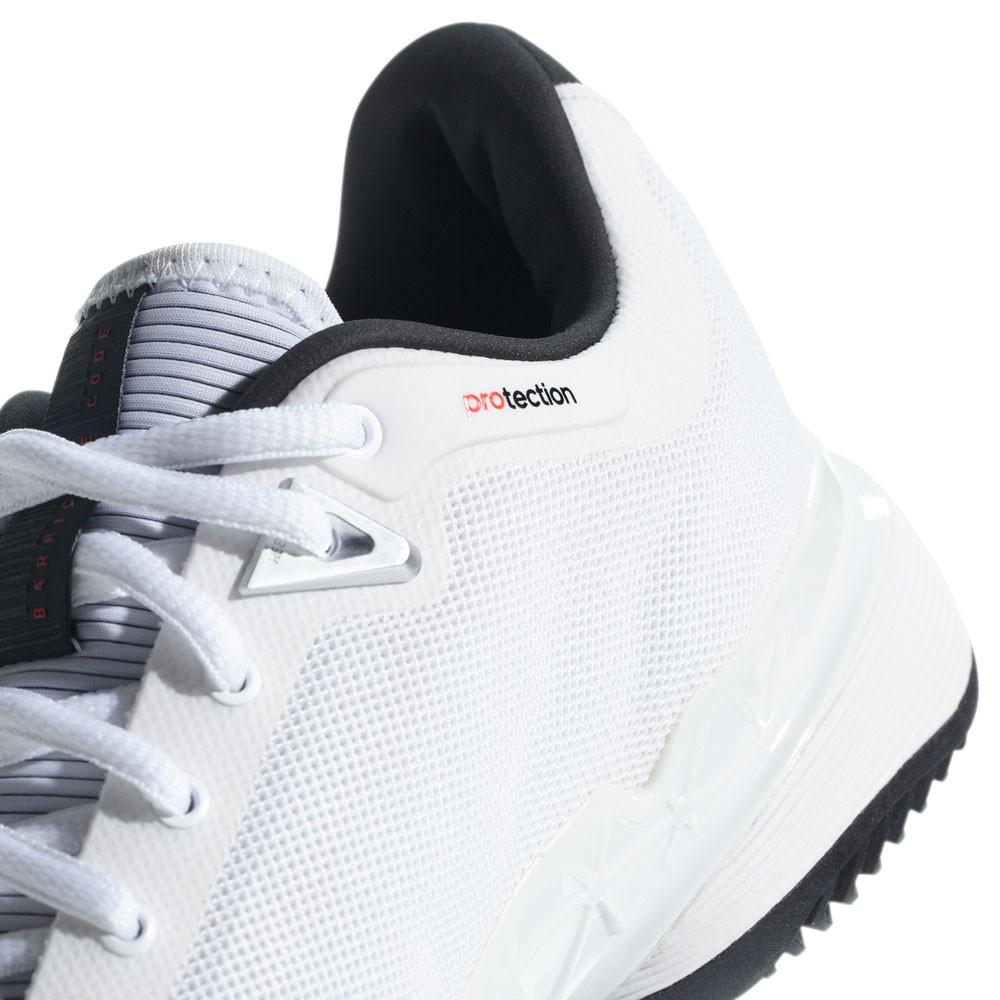competitive price 9fbe0 b8d15 adidas Hombre Barricade 2018 Tenis Zapatos Blanco Deporte Transpirable  Ligero