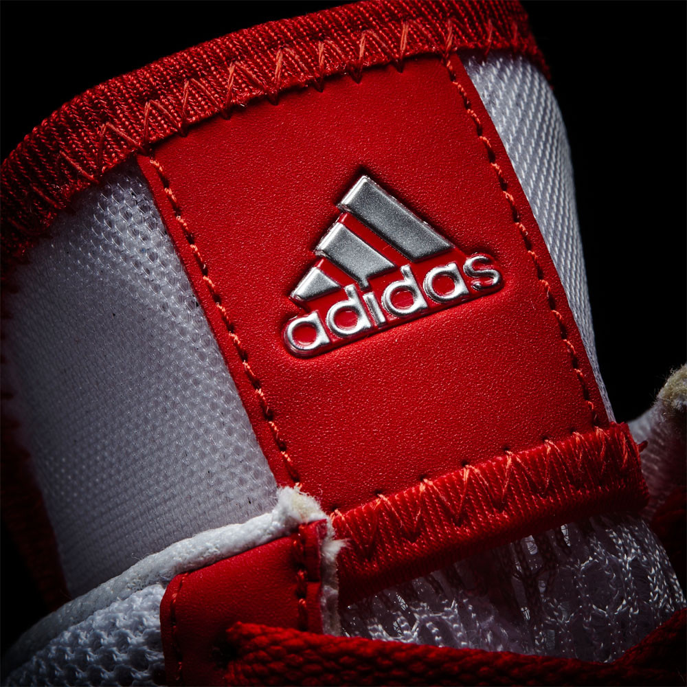 adidas Mens Pretero III Boxing Shoes Red White Sports Breathable Lightweight