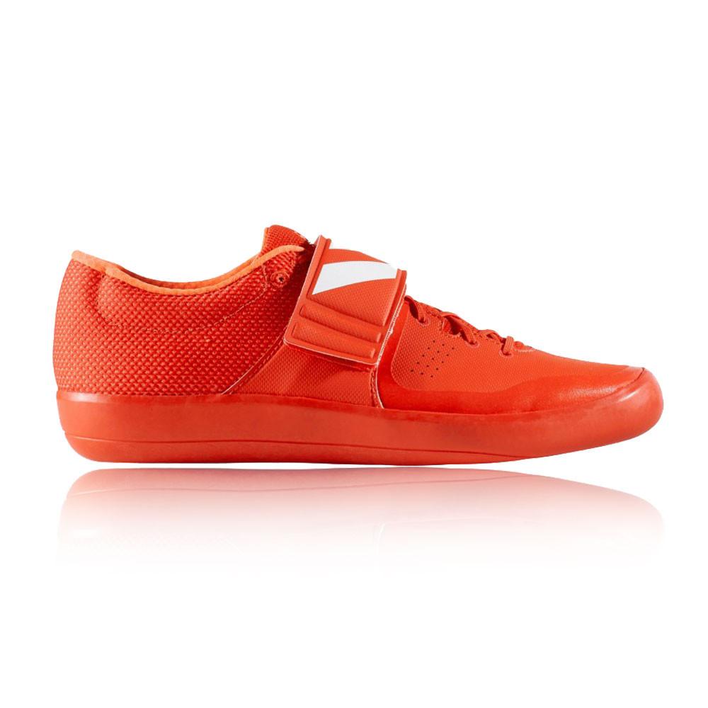 adidas mens adizero shotput scarpe rosse sport respirabile leggeri