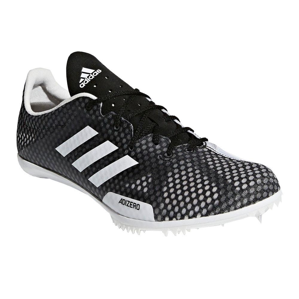 cheap for discount 8128c af8a1 Adidas Homme Adizero Ambition 4 Chaussure Course À Pointes Athlétisme Noir  Blanc