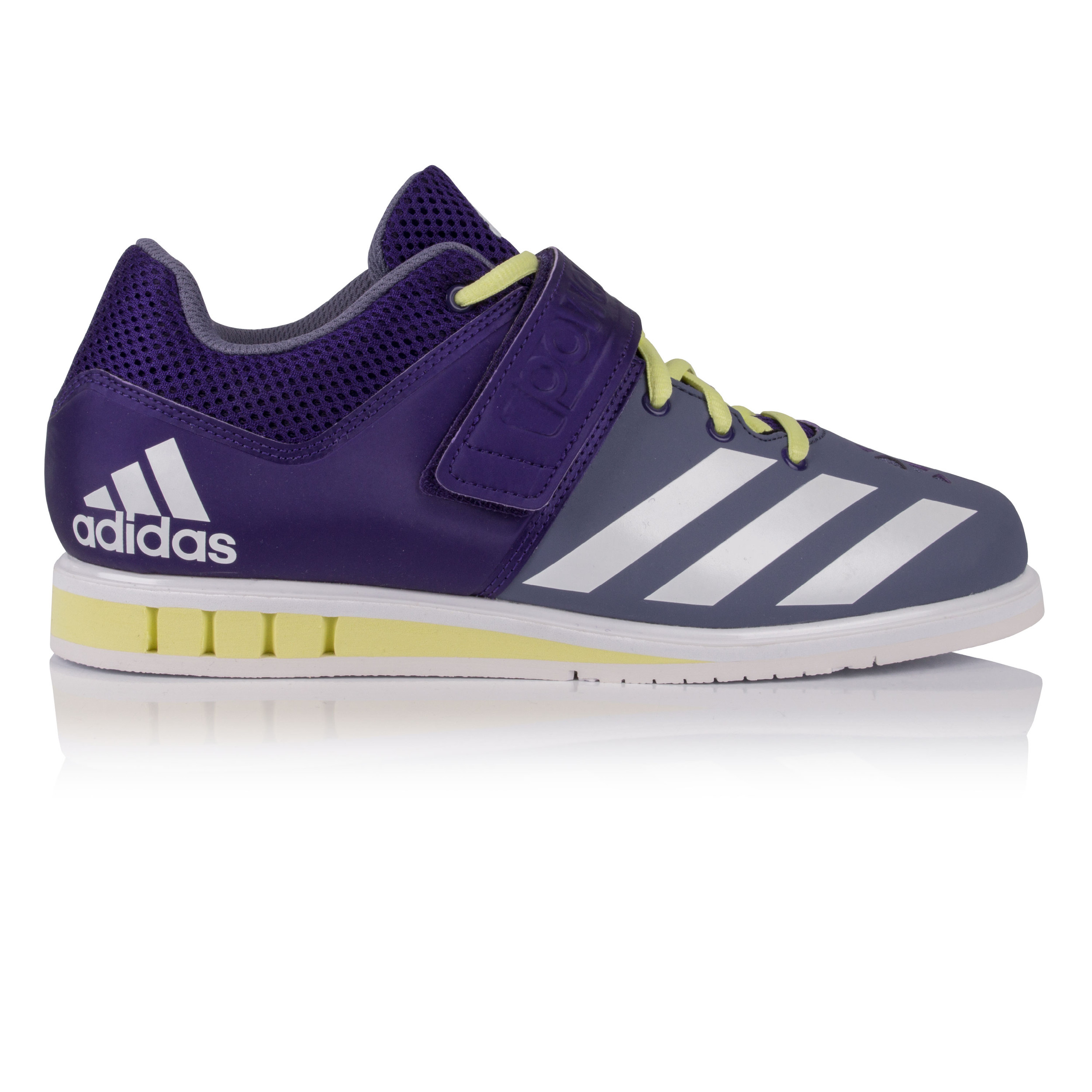 3ce4599d0595 Details about adidas Womens Powerlift 3 Weightlifting Shoes Purple Sports  Breathable