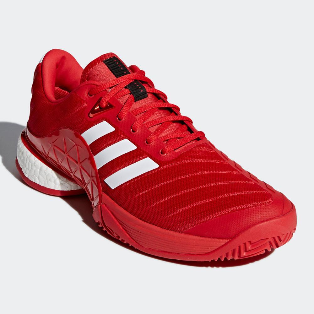 buy popular 8fdfc 8fa01 La scarpa Barricade è stata attentamente concepita per offriti un unica  esperienza quando giochi a tennis. La suola esterna ADIWEAR 6 offre un eccellente  ...