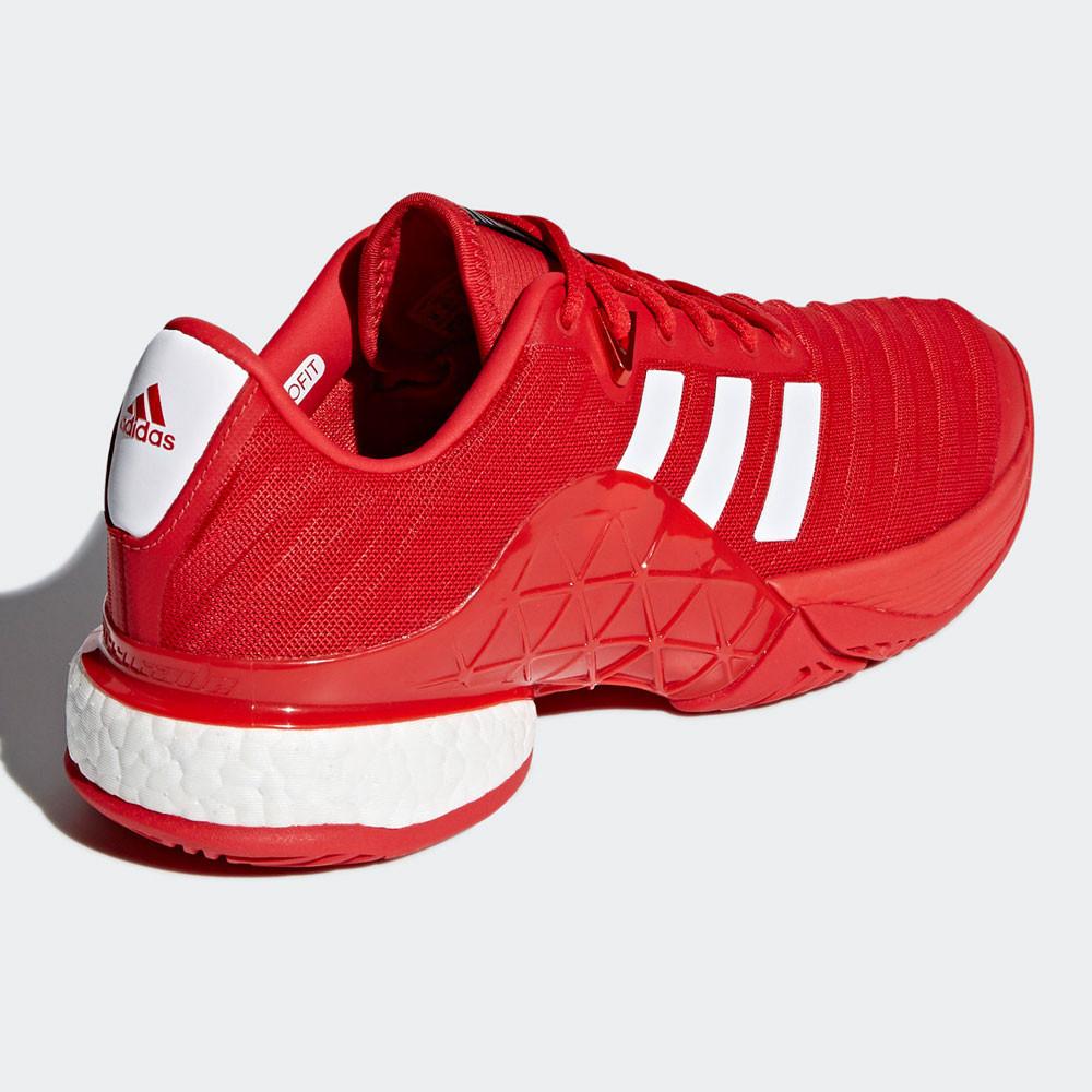 zapatos rojos de hombre adidas