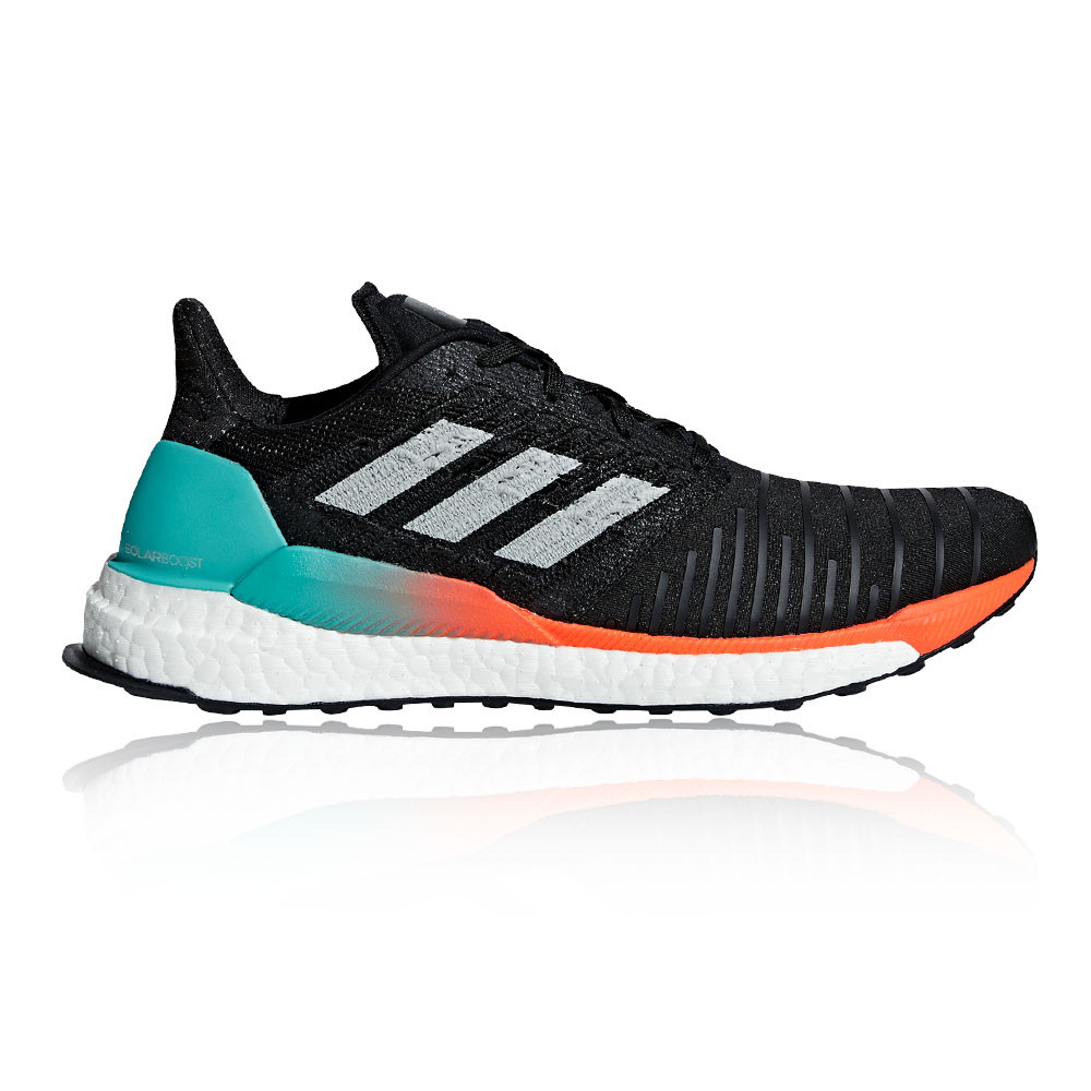 new arrive bb69d 739aa Details about adidas Mens Solar Boost Running Shoes Trainers Sneakers -  AW18 Black Sports
