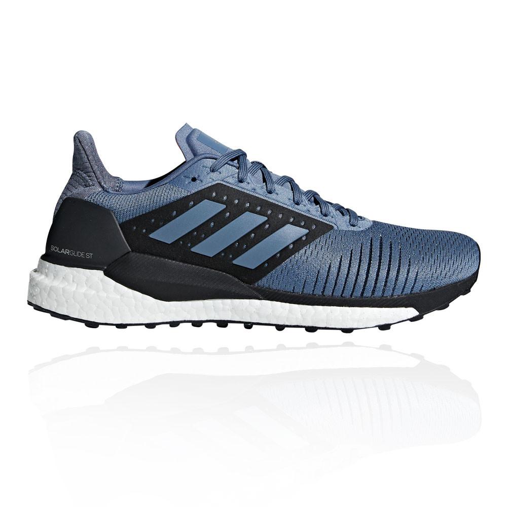 new style c0057 51e7b Adidas Hombre Solar Glide St Correr Zapatos Zapatillas Azul Deporte Running