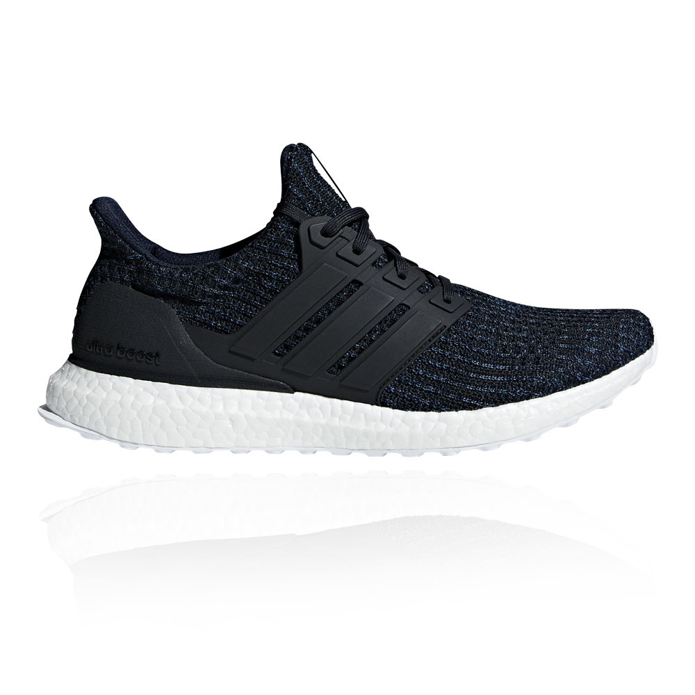 3c30a12ab22 Details about adidas Mens UltraBoost Parley Running Shoes Trainers Sneakers  Black Sports
