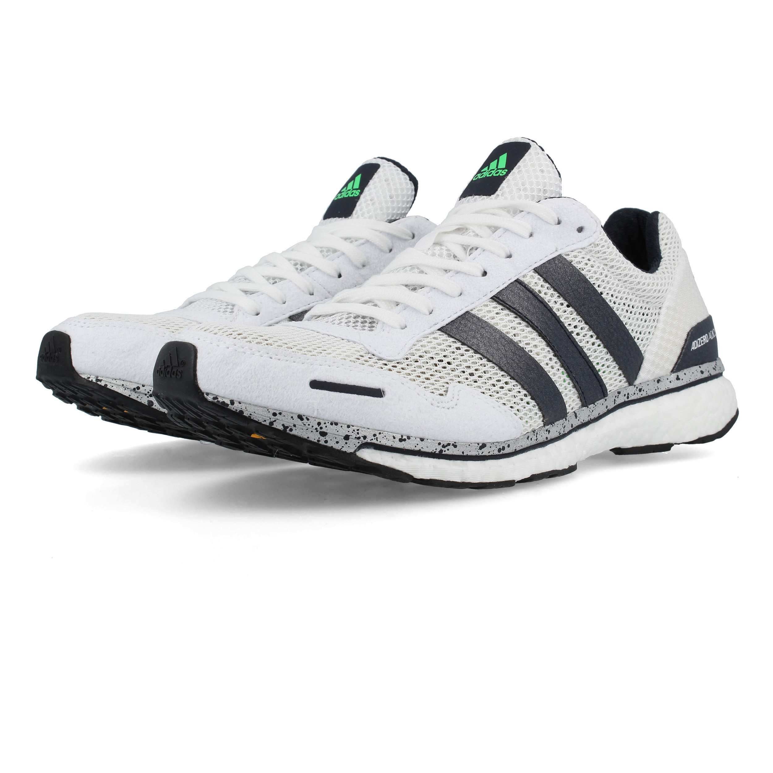 cf037c89e00d5 Details about adidas Mens Adizero Adios 3 Running Shoes Trainers Sneakers  White Sports