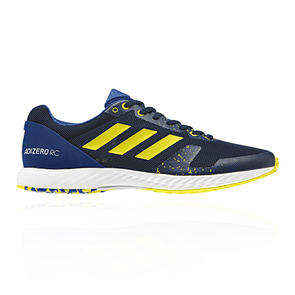 c1225af4155b0d adidas Mens Adizero RC Running Shoes Trainers Sneakers Blue Sports  Breathable