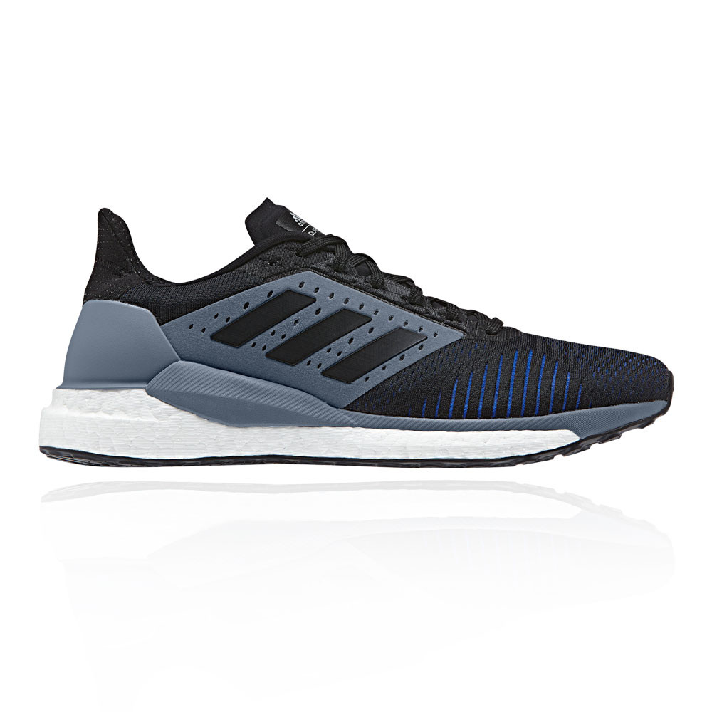 19c5af010 Details about adidas Mens Solar Glide ST Running Shoes Trainers Sneakers  Black Sports