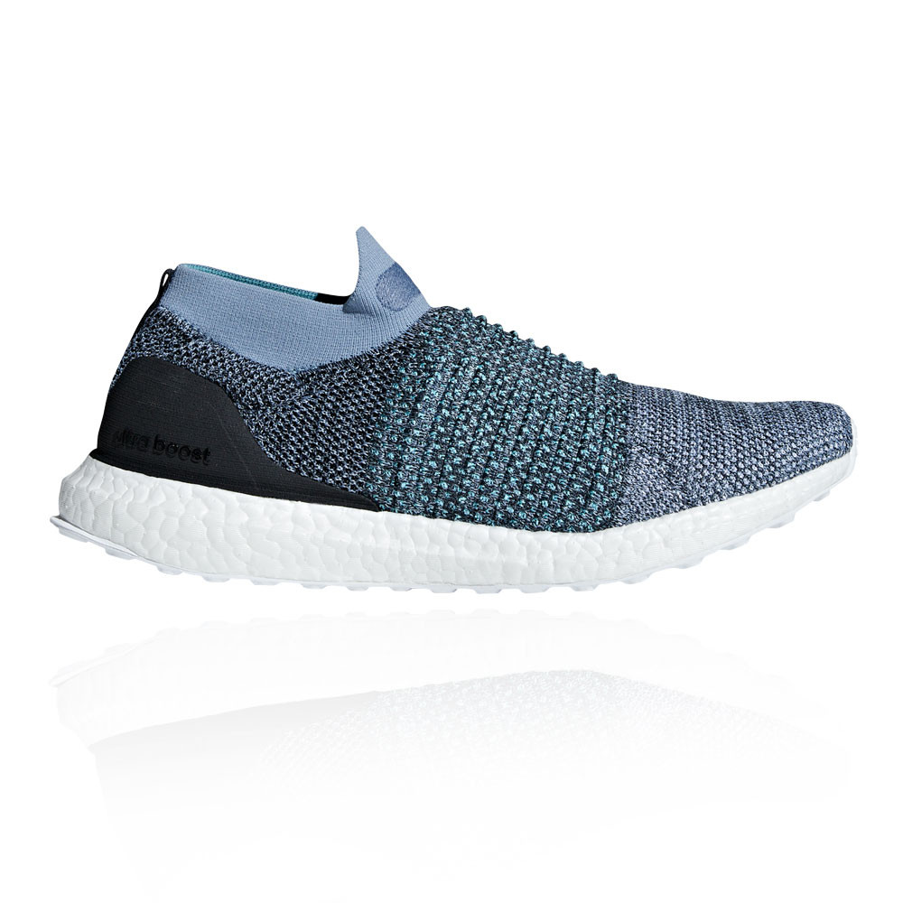 new products 5f040 14991 Details about adidas Mens UltraBoost Laceless Parley Running Shoes Trainers  Sneakers Blue