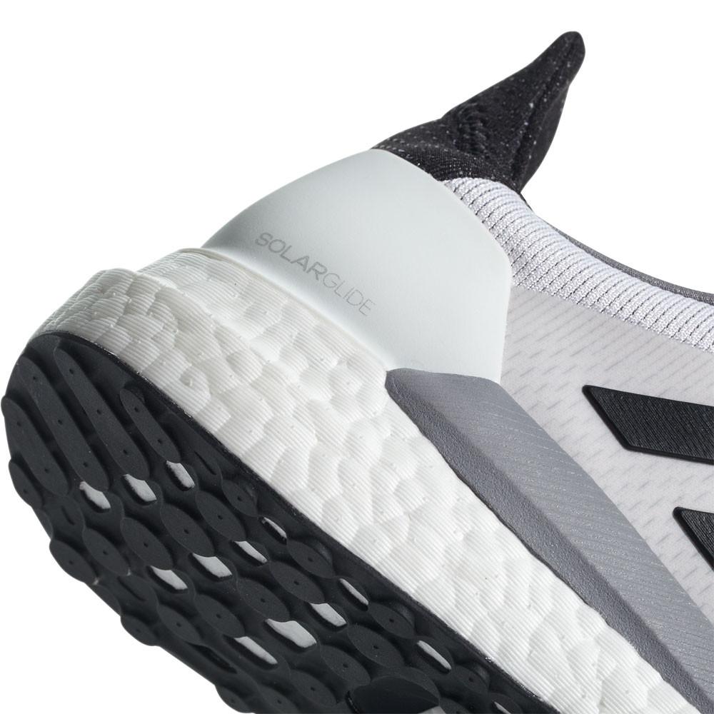 the latest d007e 55e58 Adidas Hombre Solar Glide Correr Zapatos Zapatillas Blanco Deporte  Transpirable
