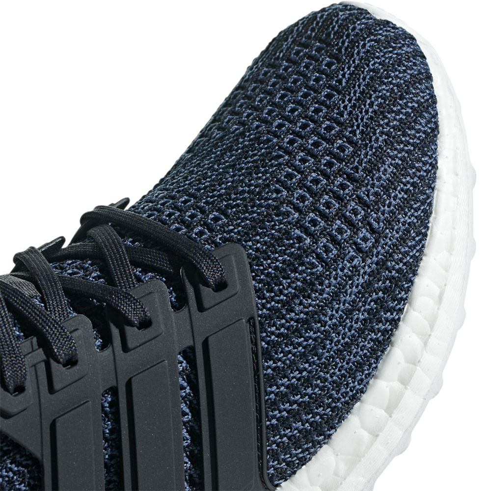 18b4899b0 adidas Womens UltraBoost Parley Running Shoes Trainers Sneakers Black Blue
