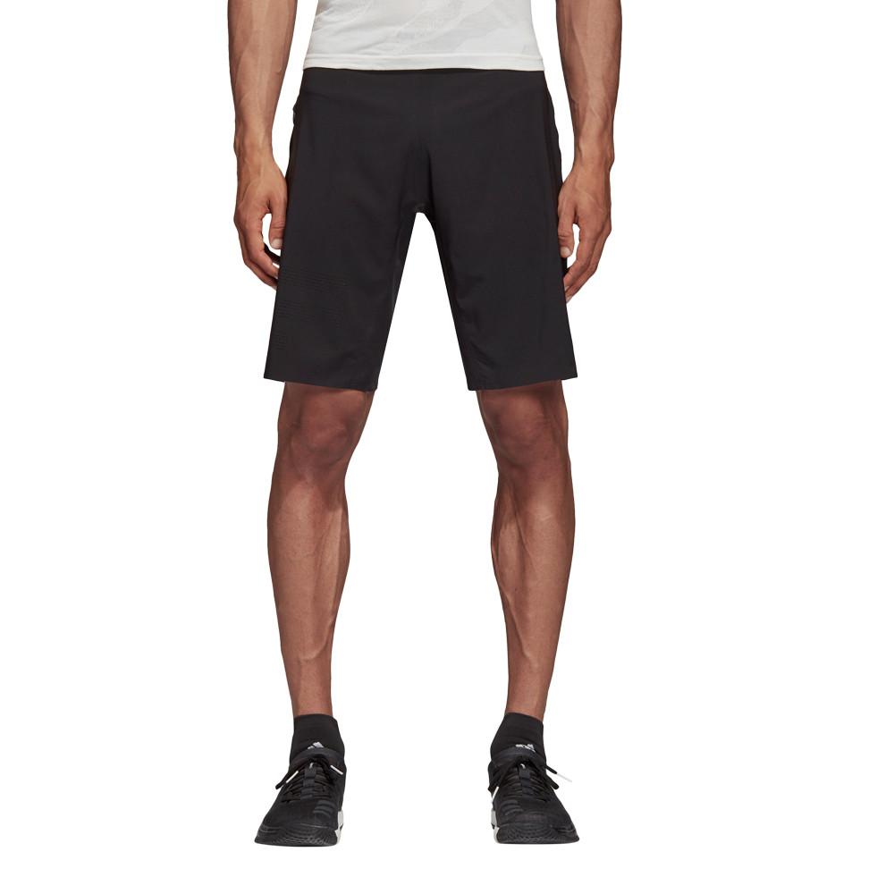 Mujer Cortos Deporte Negro Pantalones Elite Adidas Correr 4krft adwga6
