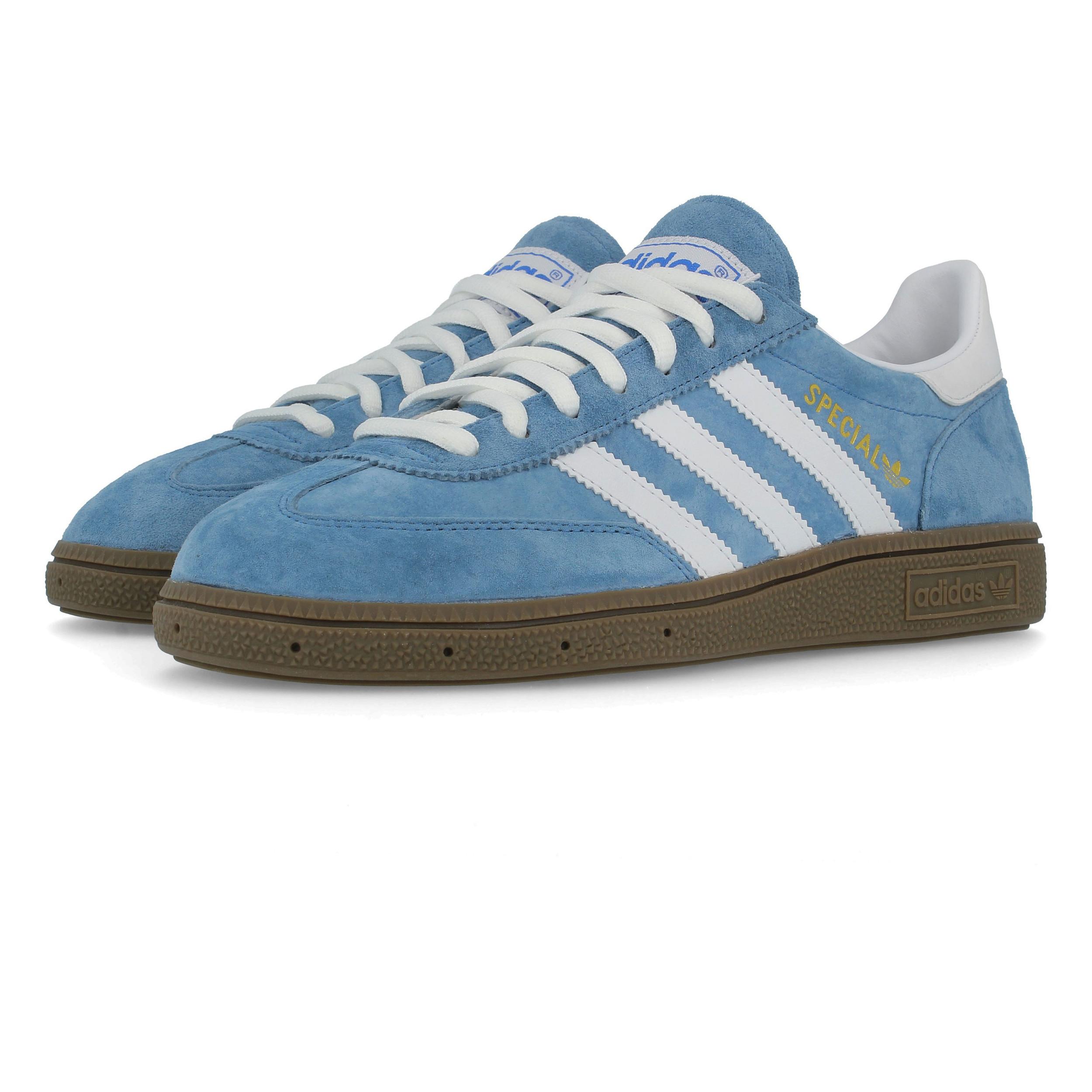 Détails sur Adidas Homme Spezial Indoor Chaussures Bleu Sports Léger en Cuir et Daim Baskets afficher le titre d'origine