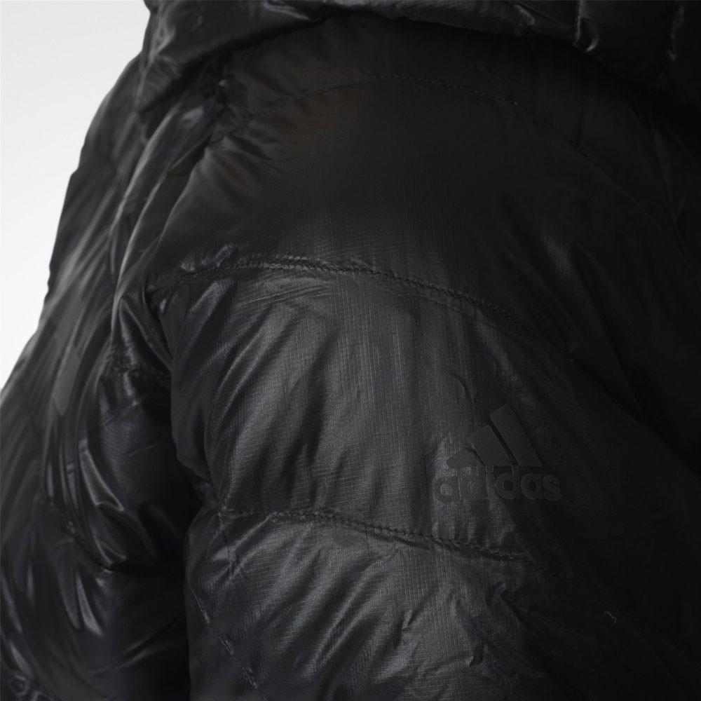 adidas Donna Terrex Climaheat Agravic Giacca Imbottita Piumino Cappuccio  Nero 81d713997ff