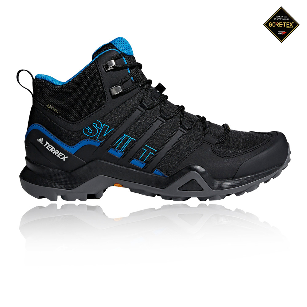 adidas Homme Terrex Swift R2 Mid GORE-TEX Walking Bottes Noir Sports Outdoors