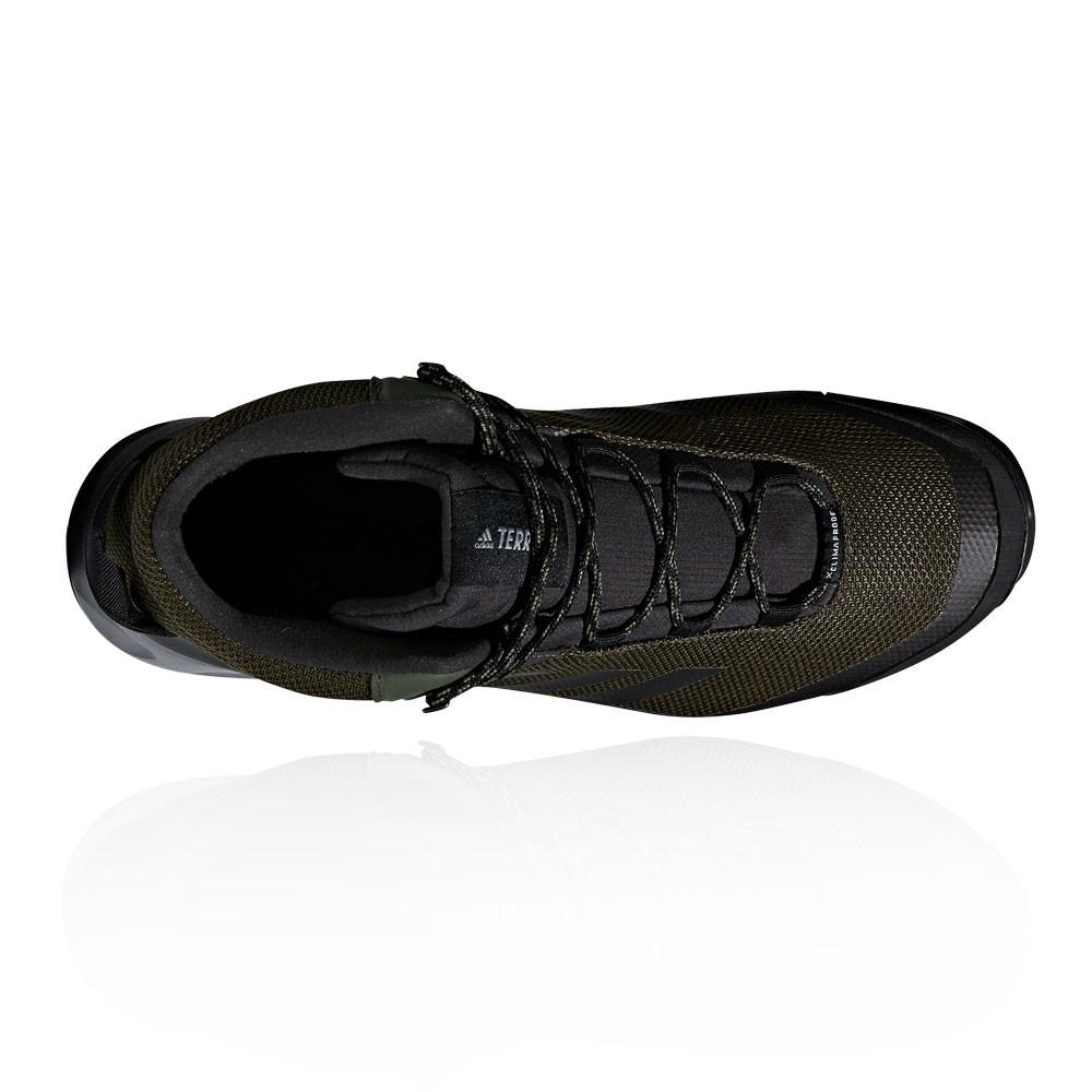 premium selection 663a5 016be Adidas Hommes Terrex Tivid Mid Climaproof Chaussures De Marche Randonnée  Vert