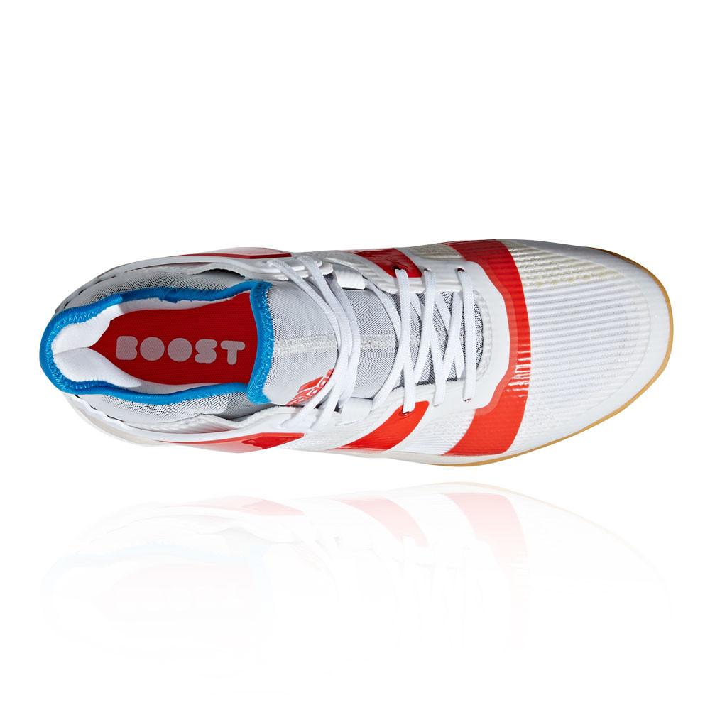 new product 5a36f 3e3bc adidas Uomo Stabil X Scarpe Da Ginnastica Interne Sala Sport Bianco  Pallamano