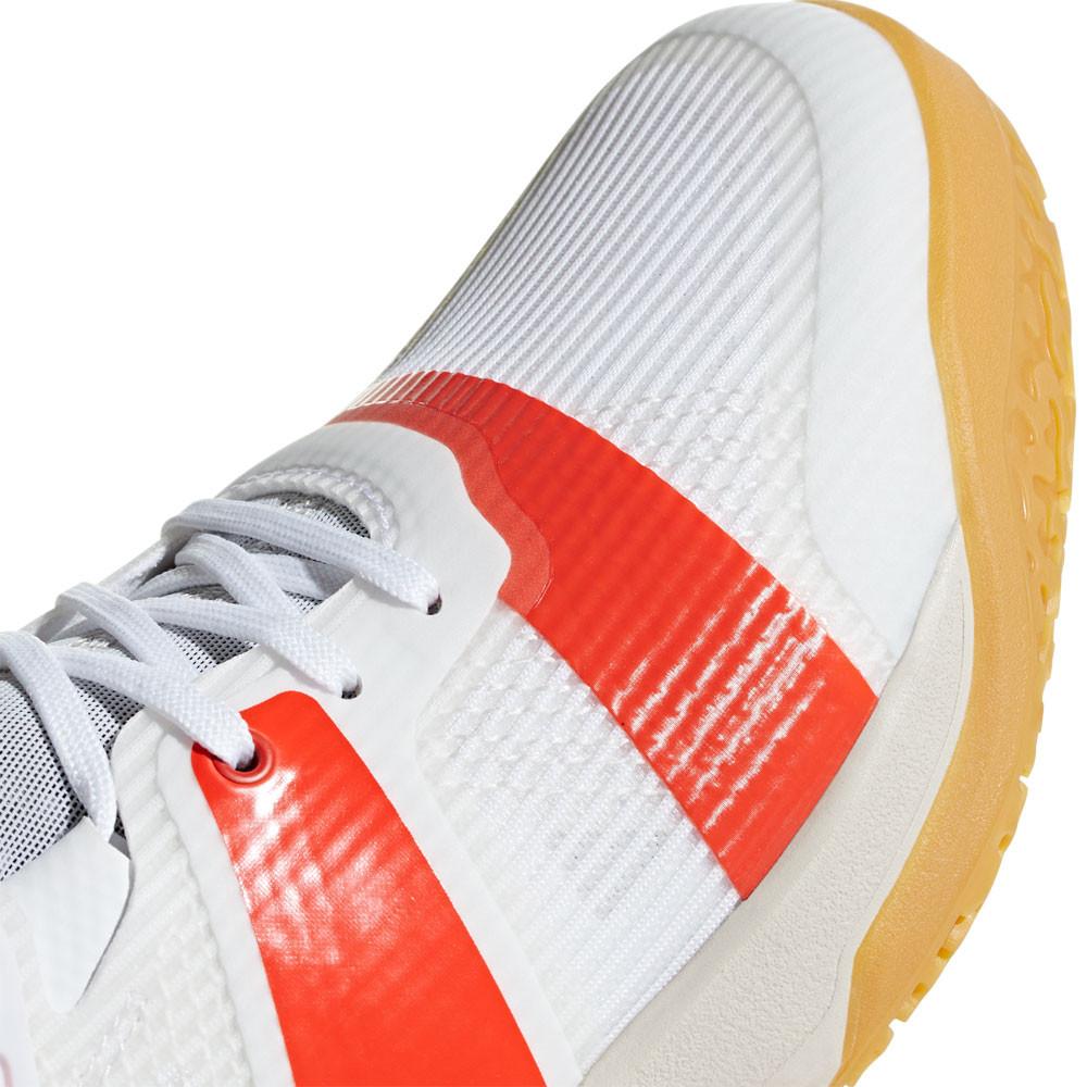 online retailer adab5 b3024 Adidas Hommes Stabil X Chaussures De Sport En Salles Baskets Blanc Handball