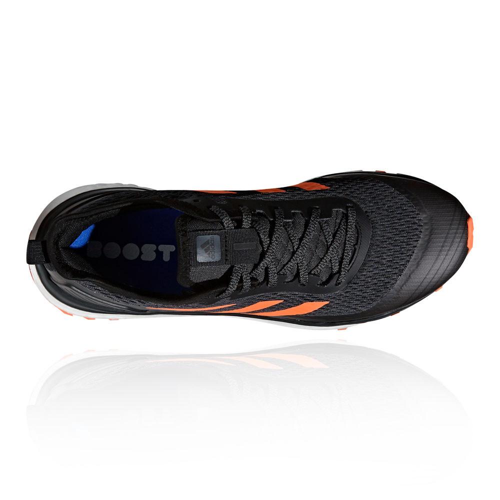 premium selection dacf3 e3d59 Adidas Hommes Response Trail Chaussures De Course À Pied Baskets Sport Noir