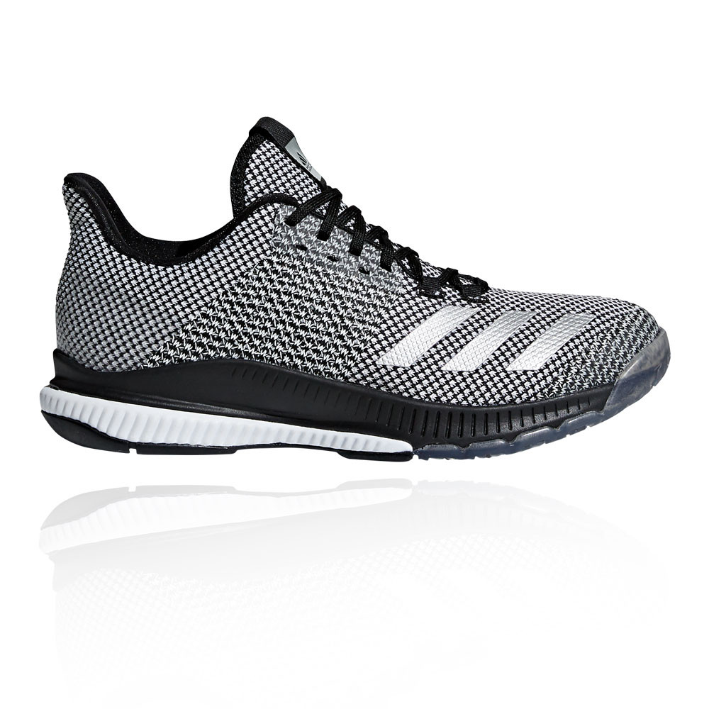 on sale e33a5 0c0c9 adidas Womens Crazyflight Bounce 2.0 Court Shoes Grey Sports Breathable  Trainers