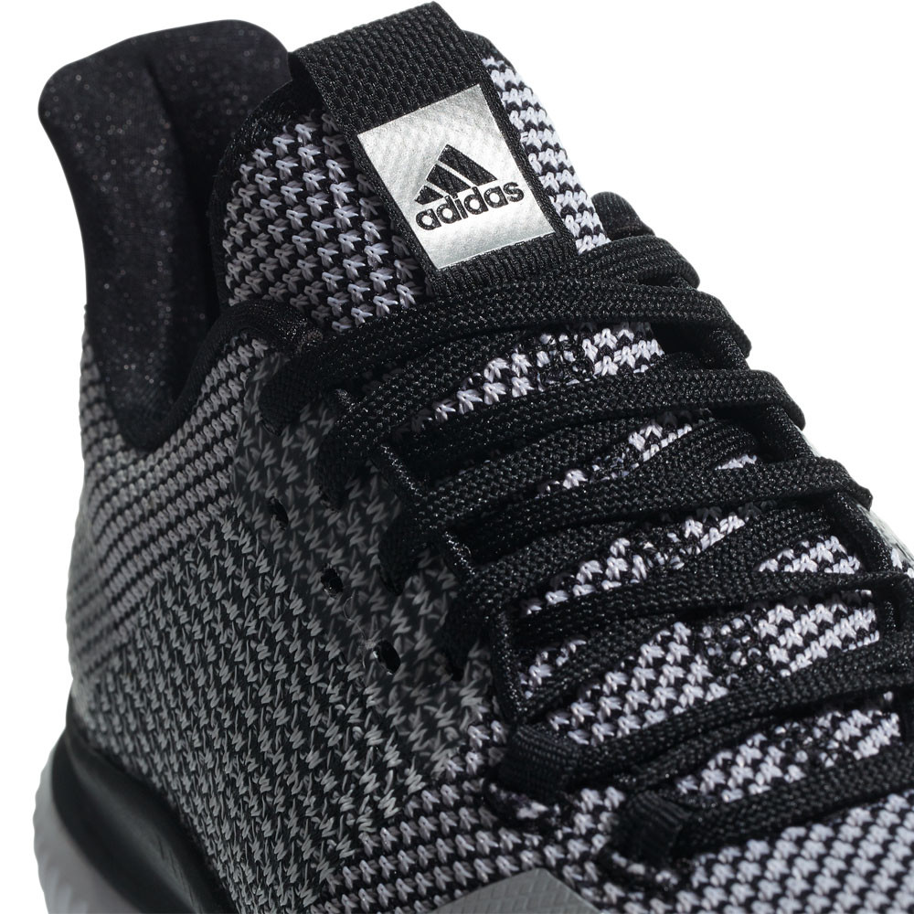 on sale 3f217 f23f6 adidas Womens Crazyflight Bounce 2.0 Court Shoes Grey Sports Breathable  Trainers
