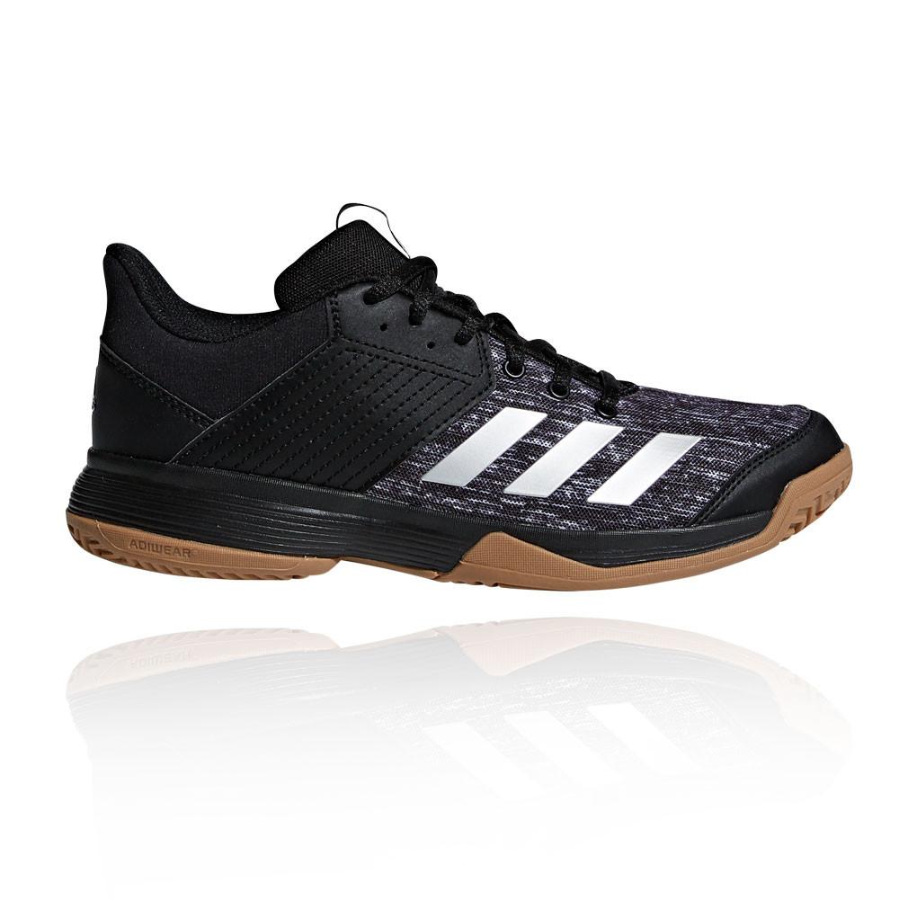 Noir De Salles Baskets En Chaussures Femmes Sport Détails Badminton Ligra Sur Adidas 6 gbf6Yy7Iv