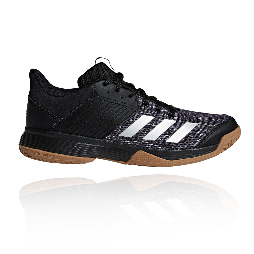 uk availability b42c3 2b68c Adidas Femmes Ligra 6 Chaussures De Sport En Salles Baskets Sport Noir  Badminton
