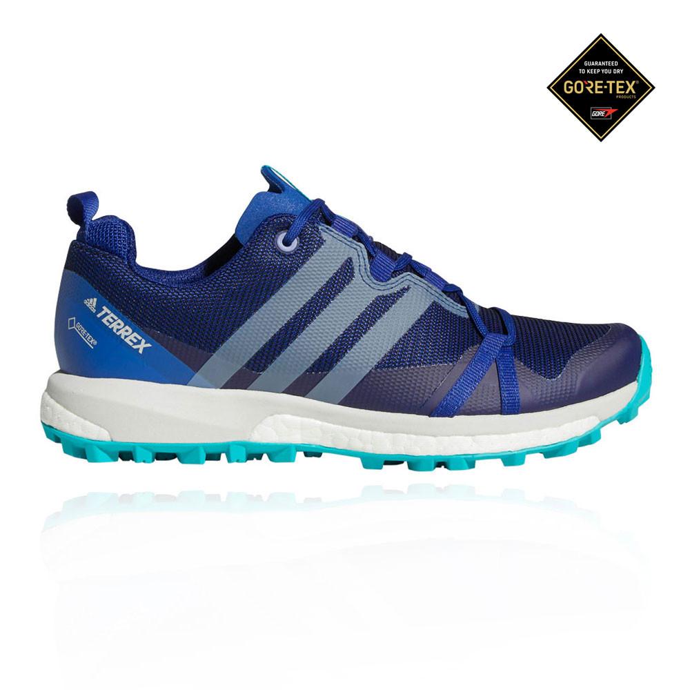 ADIDAS Donna Terrex assenza da GORE-TEX TRAIL RUNNING scarpe da assenza ginnastica blu 65dbc5