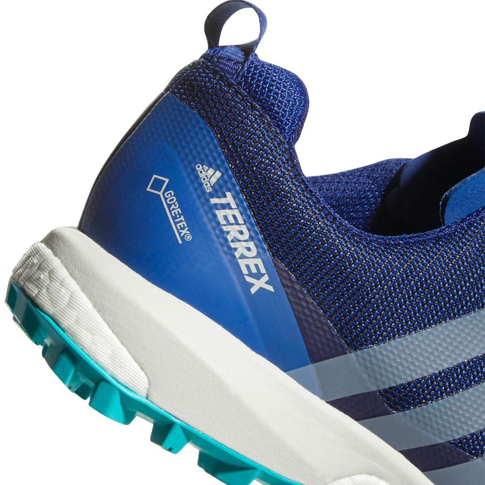 adidas Donna Terrex Agravic Gore Tex Trail Scarpe Da Corsa Ginnastica Sport  Blu 3512be6e49d