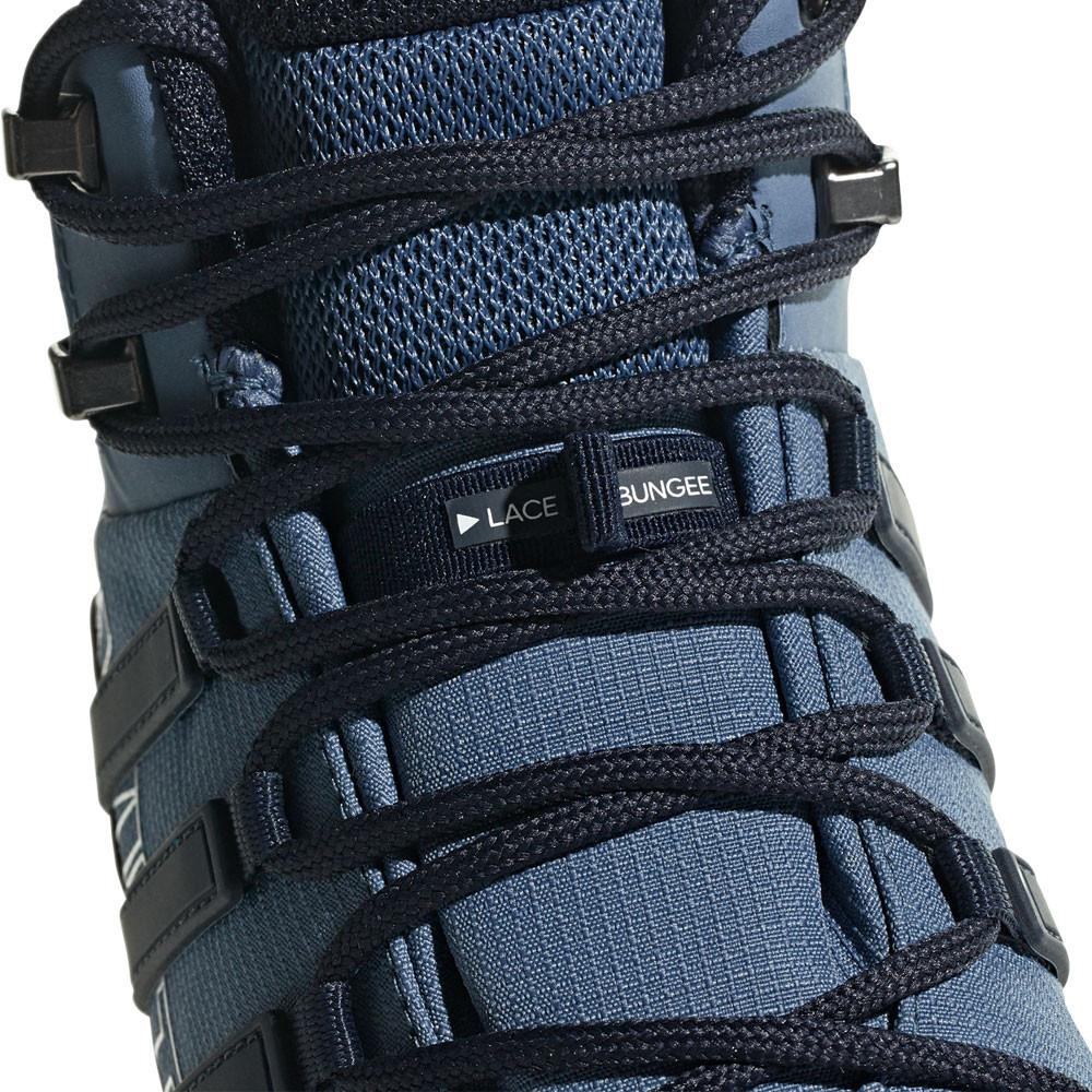 Détails sur Adidas Hommes Terrex Swift R2 Mid Gore Tex Chaussures De Marche Randonnée Bleu