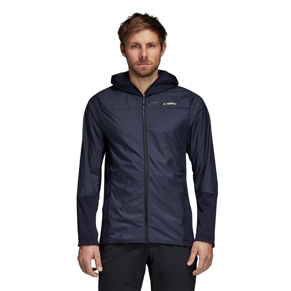 Correr Skyclimb Chaqueta Azul Fleece Top Deporte Adidas Hombre Z4w0q5gWvS