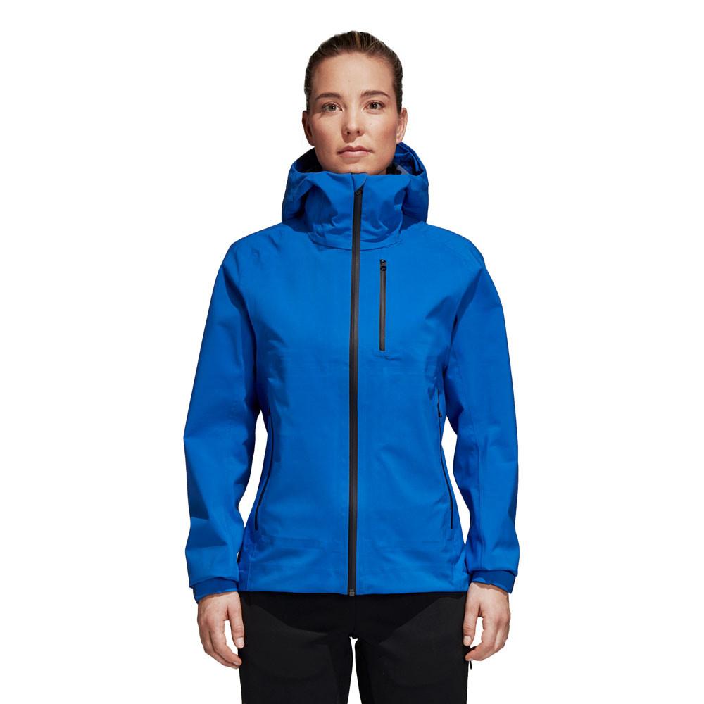 adidas Terrex 3 Layer Parley Women s Jacket - AW18   SportsShoes.com 2751d389d2